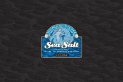 Sea Salt label design